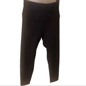 Marika Black Exercise, Yoga Leggings Size Large